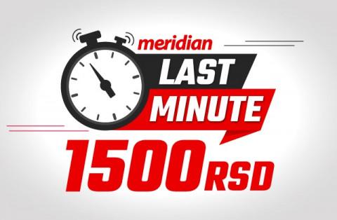 Meridian LAST MINUTE