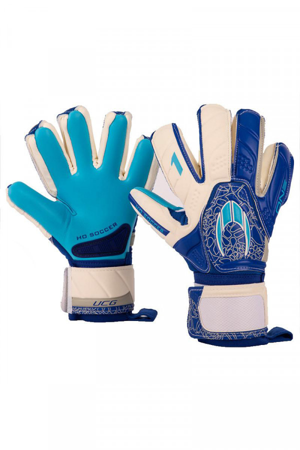 HOSOCCER golmanske rukavice ONE NEGATIVE STORM BLUE