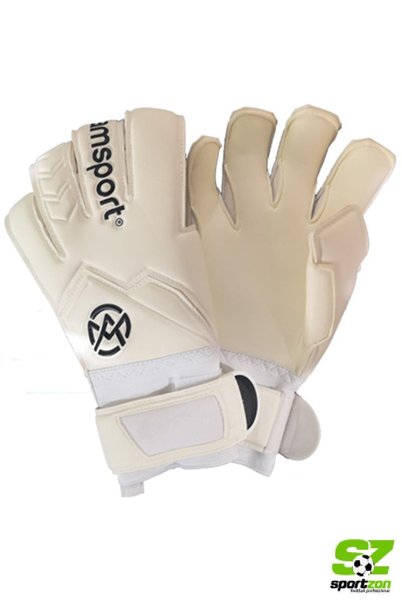 Amsport golmanske rukavice BELA